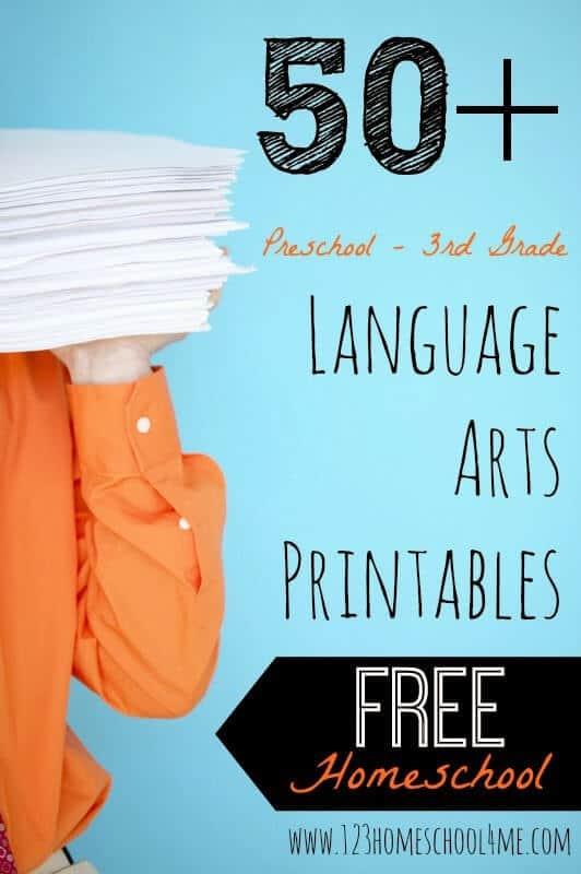 Language Arts Worksheets & Games
