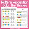 Shape Recognition Worksheets For Kindergarten