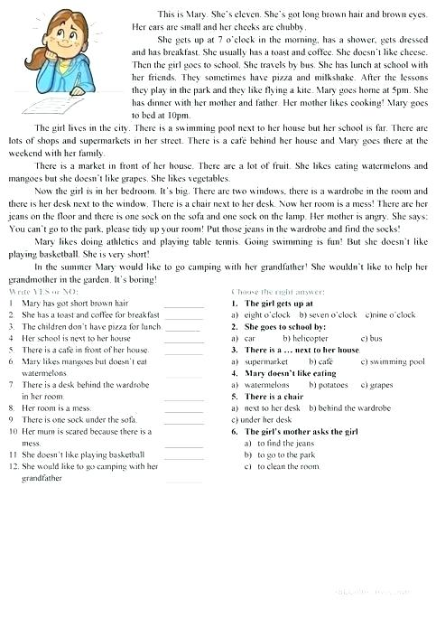 Pre Beginner Esl Worksheets
