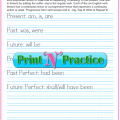 Past Continuous Tense Worksheets Pdf
