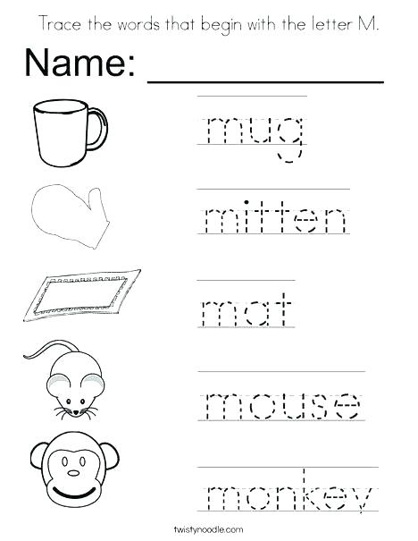 Printable Worksheets For Head Start