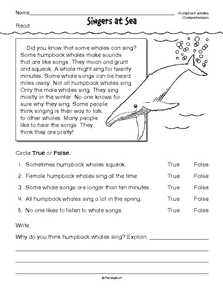 3rd Grade Reading Worksheets Printable – Openlayers Co