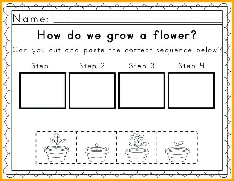 Sequencing Events Worksheets For Grade 2 6 Sequence Of Sequencing