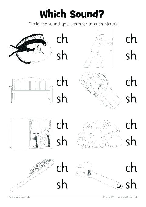 Sh Worksheets Free Ch Word Sort And Digraph Activities Den