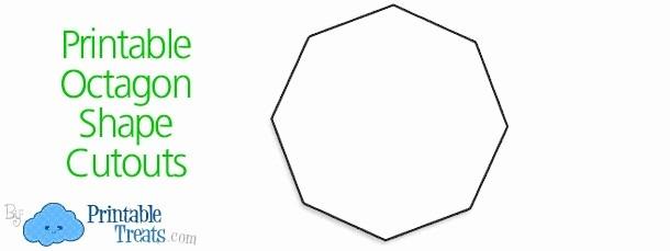 Shapes For Kindergarten Lovely Octagon Worksheet For Preschoolers
