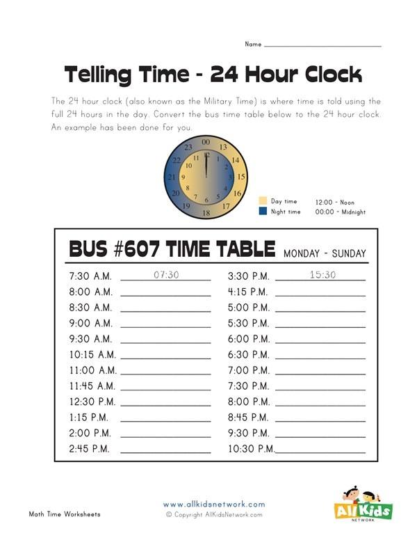Convert 12 To 24 Hour Clock