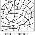 Thanksgiving Multiplication Worksheets
