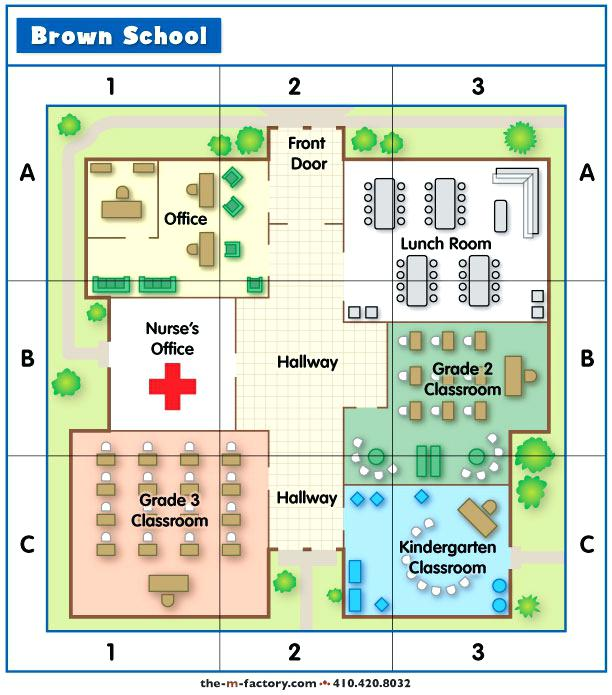 The M Factory School Grid Map Grid Map Worksheets 3rd Grade – Tagn