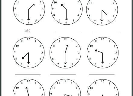 Time Worksheets Grade 2 Math Telling The Time Worksheet Free Math