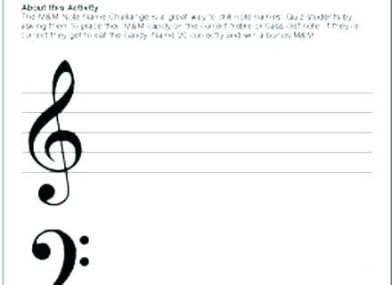 Violin Worksheets