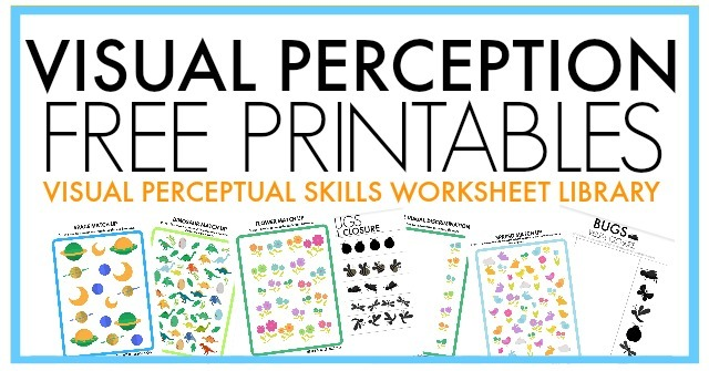 Free Visual Perception Packet