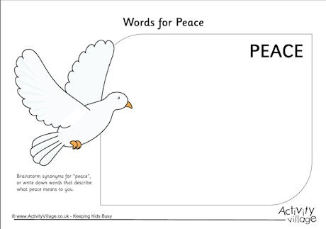 Peace Day For Kids