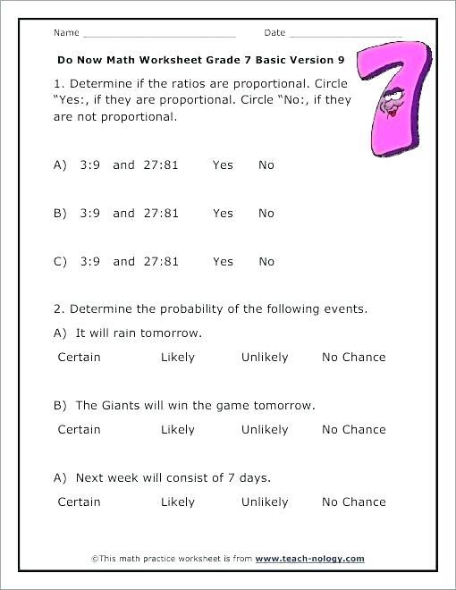 8th Grade Probability Worksheets – Dzulfikar Com