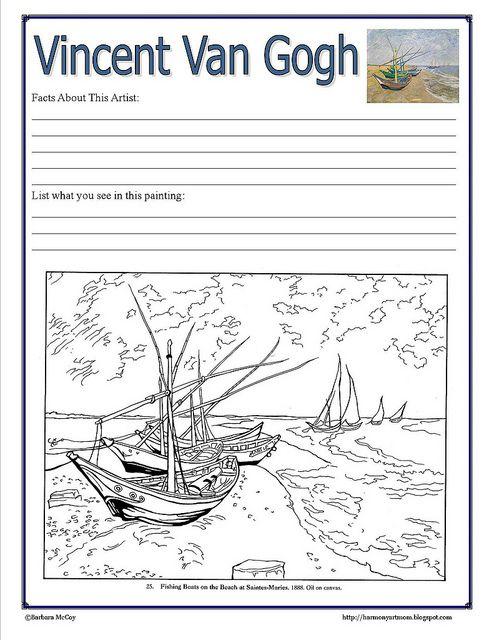 Van Gogh Notebook Page