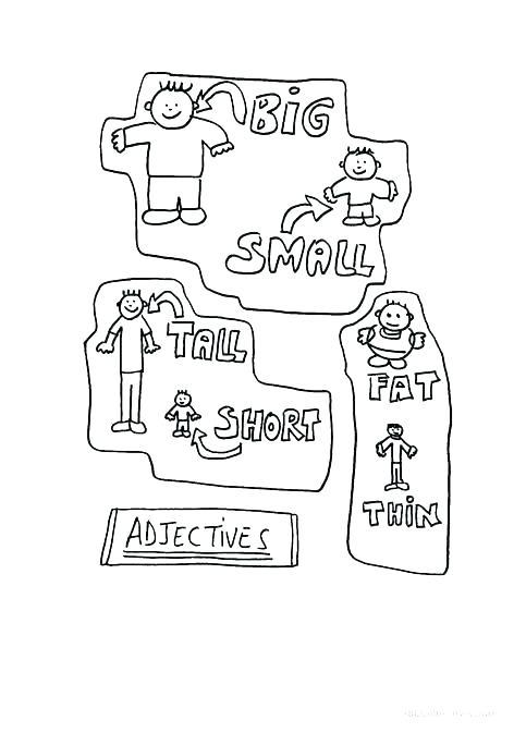 Adjectives Worksheets For Kids – Katyphotoart Com