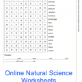Science Worksheets For Grade 5