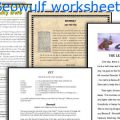 Beowulf Movie Worksheets