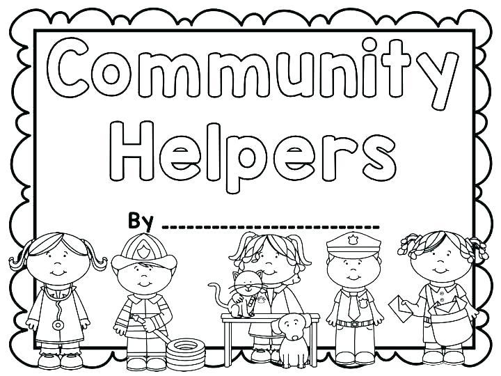 Community Helpers Kindergarten Worksheets Right Carousel Arrow