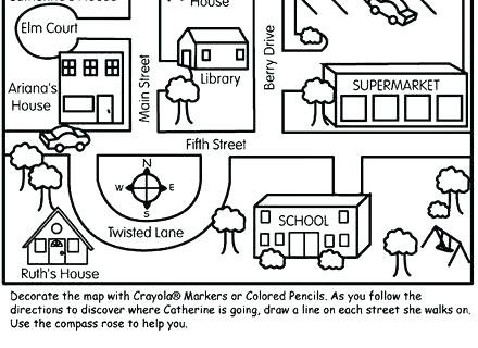 Compass Worksheets For Kids Worksheets Main Ideas Worksheets 3rd Grade