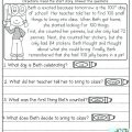 Comprehension Worksheets For Year 3