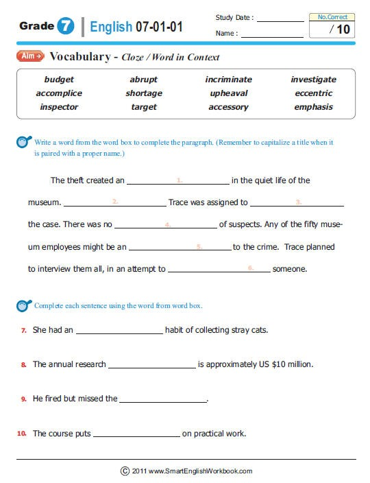 Printables  8th Grade Ela Worksheets  Lemonlilyfestival Worksheets