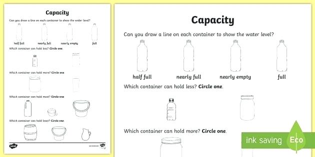 Containers Esl Worksheets