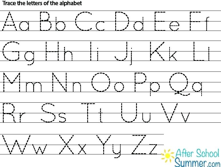 Free Alphabet Printing Worksheets