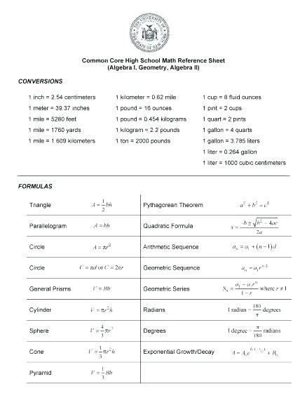 Free Le High School Worksheets Algebra Math For Grammar Fun High