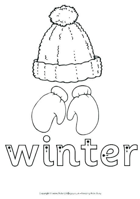 Free Printable Winter Worksheets For Kindergarten Grade Free