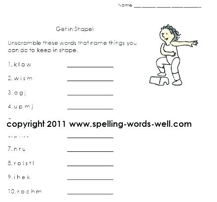 Free Language Worksheets For 2nd Grade