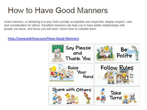 Good Manners Manners Worksheets As Prek Worksheets