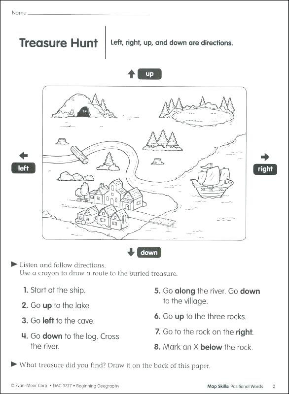 2nd Grade Geography Worksheets