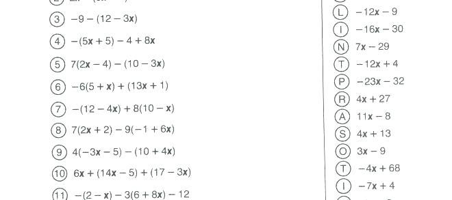 Math Worksheets 7th Grade – Akasharyans Com