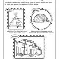 Native American Worksheets