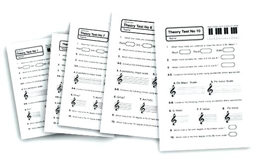 Piano Theory Worksheets Music For High School The Best Image