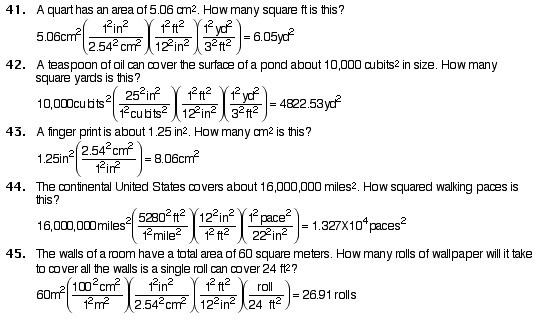 Dimensional Analysis Ws Answers