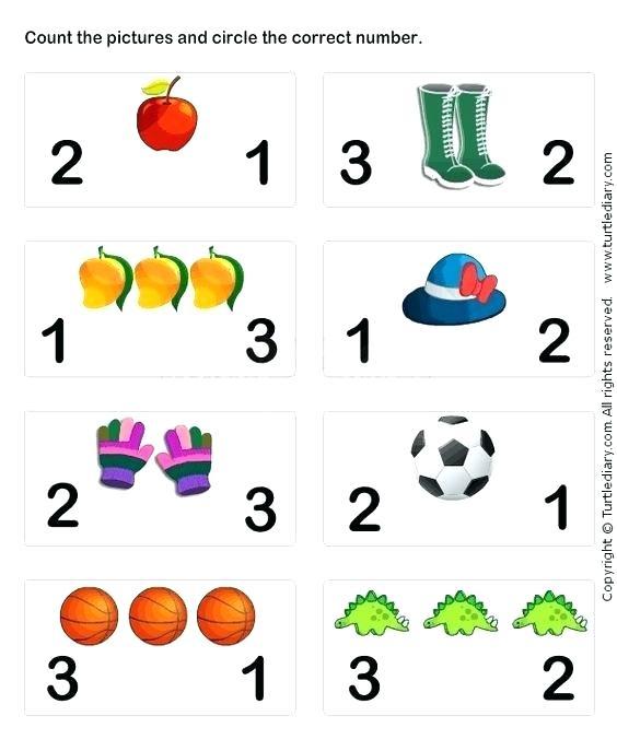 Preschool Math Worksheets Free
