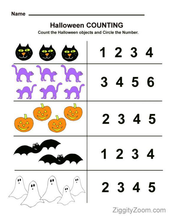Preschool Maths Worksheets