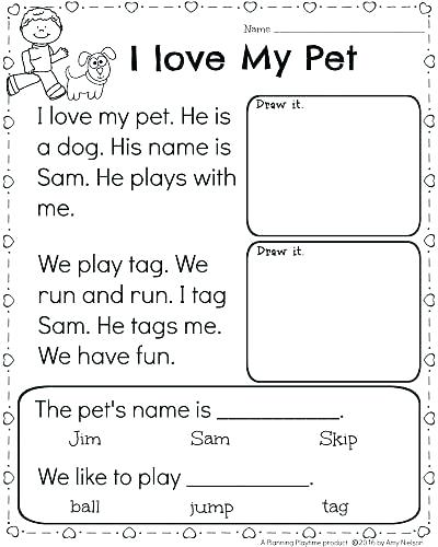 Preschool Reading Worksheets Kindergarten Worksheets Fresh Free