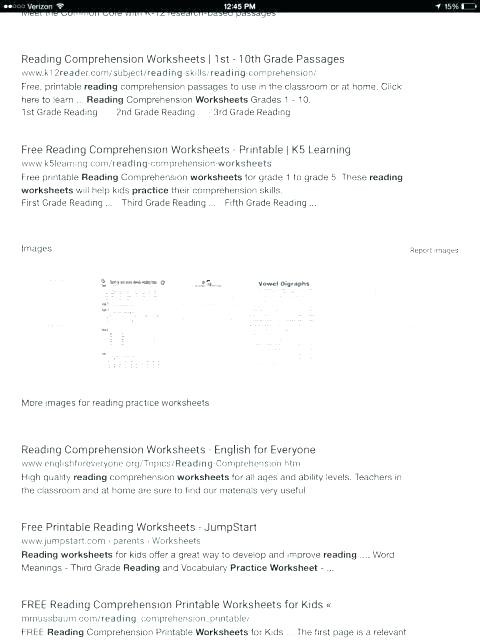 Printable Reading Comprehension Worksheets 7th Grade