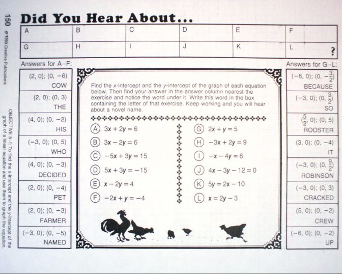 Printables Of Did You Hear About Worksheet Answers