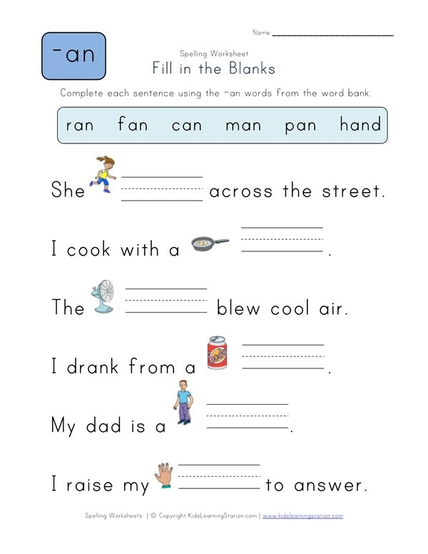 Complete The Sentences With