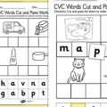 Short A Cut And Paste Worksheets