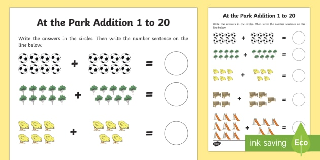 At The Park Themed Addition Sheet 1