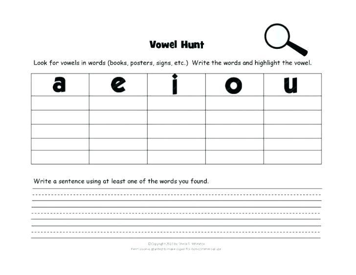 Teaching Vowels Worksheets Long Vowels Worksheets Teaching Vowel