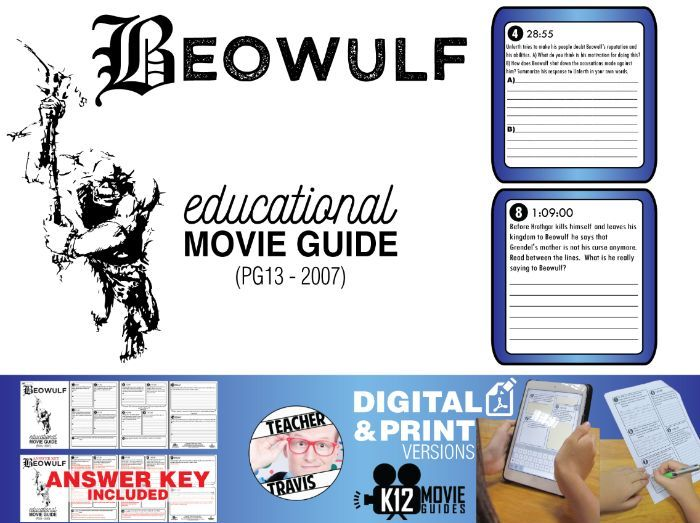 Beowulf Movie Guide