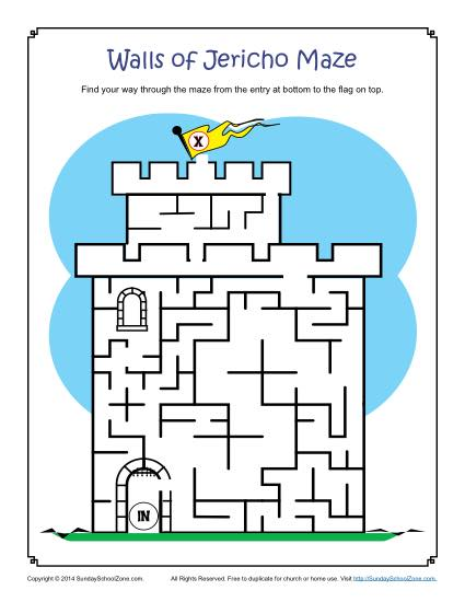 Types Of Free Printable Bible Activities For Kids On Sunday School