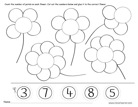 Missing Numbers, Counting Backwards And Number Identification