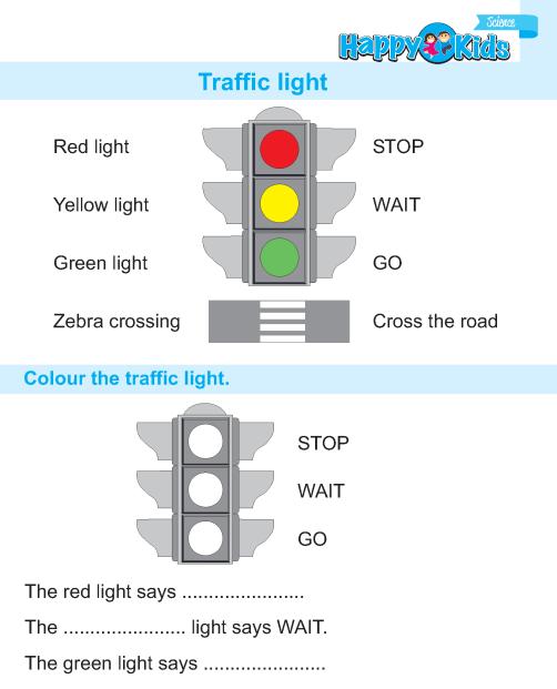 Kindergarten Science Traffic Light