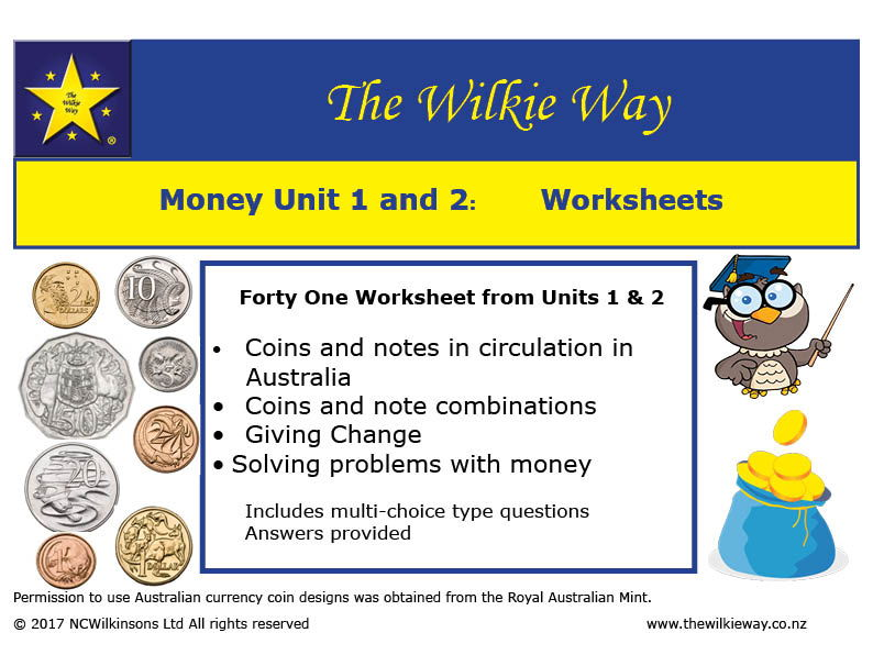 Y3 Money Worksheets By Wilkieway